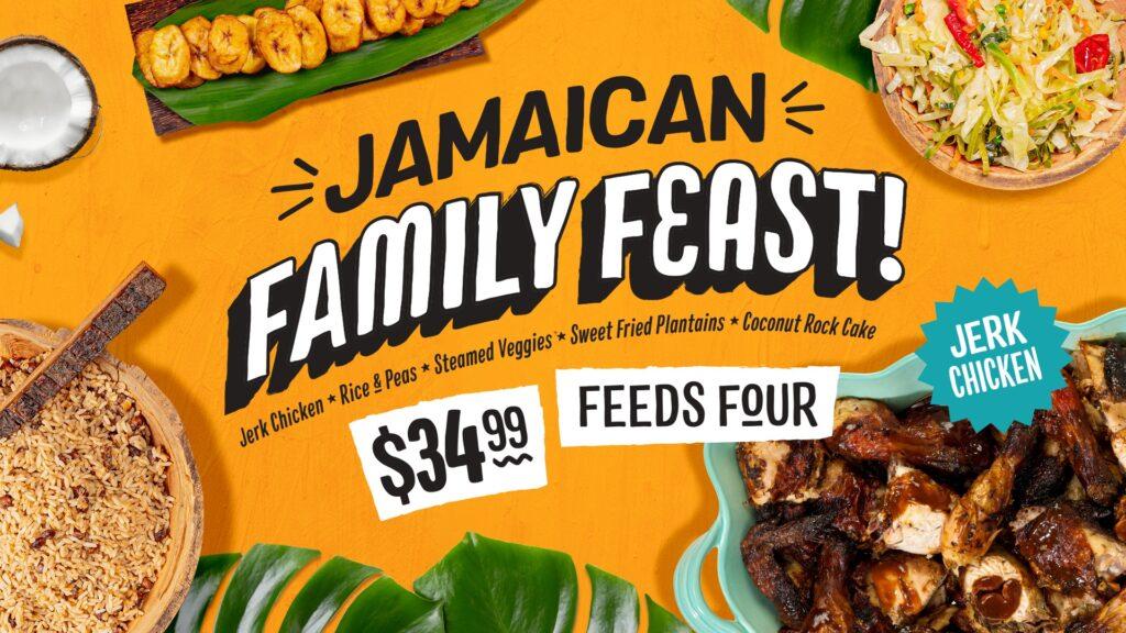 Jerk Chicken Family Feast