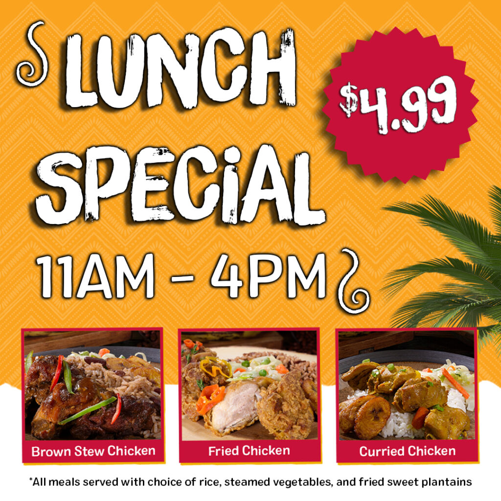 Golden Krust Linden Blvd Lunch Special